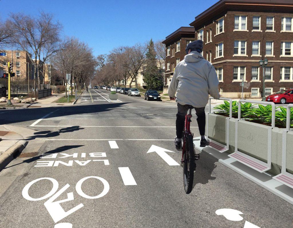 Dezignline Protected Bikeway