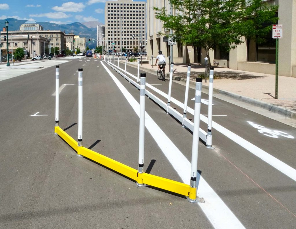 Bicycle Lane Barriers