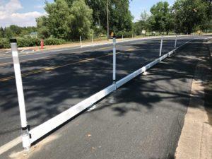 Bicycle Lane Barrier