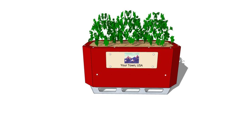 STEELGREEN Safety Barrier Planters