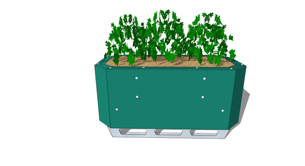 STEELGREEN Safety Barrier Planters-4