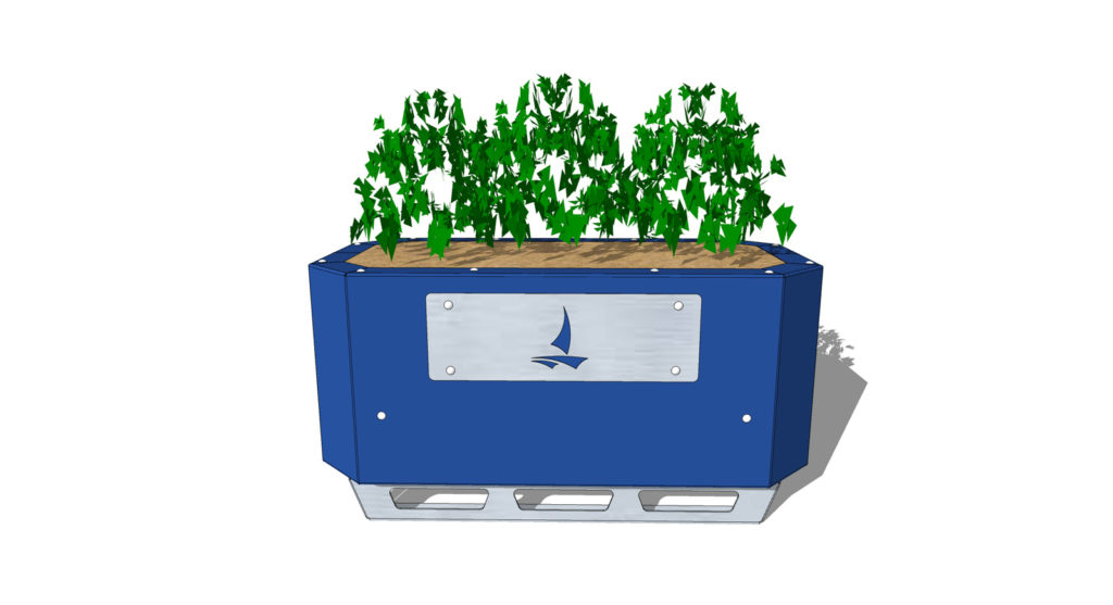 STEELGREEN Safety Barrier Planters