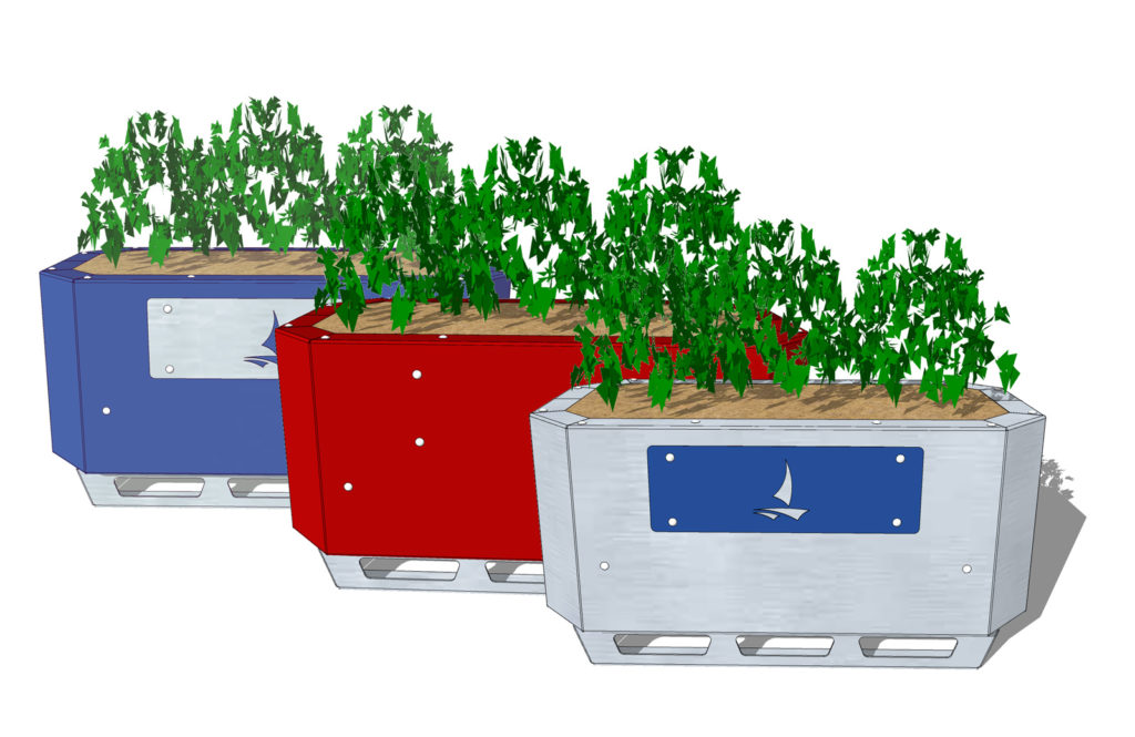 Safety-Barrier-Planters