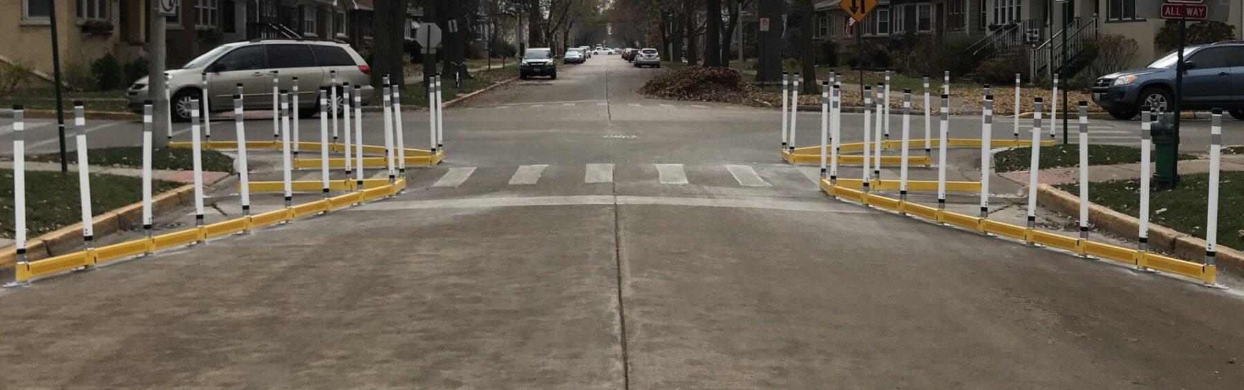 Pedestrian Safety Infrastructure in Oak Park, IL