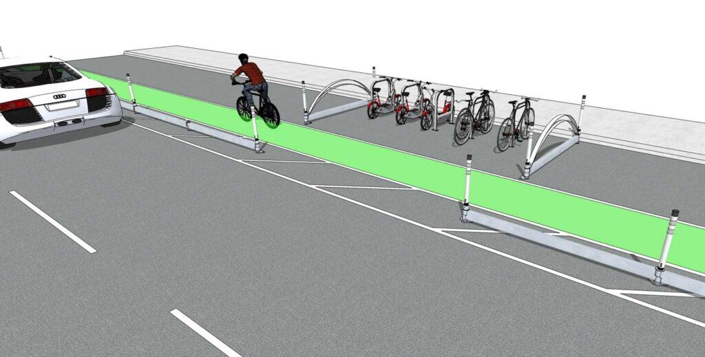 Bike-and-Pedestrian-Delineators
