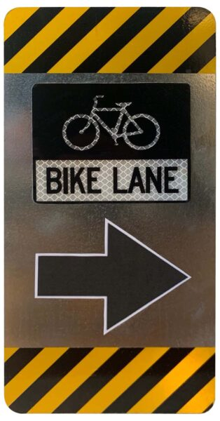 RailMark Bike Lane Object Marker