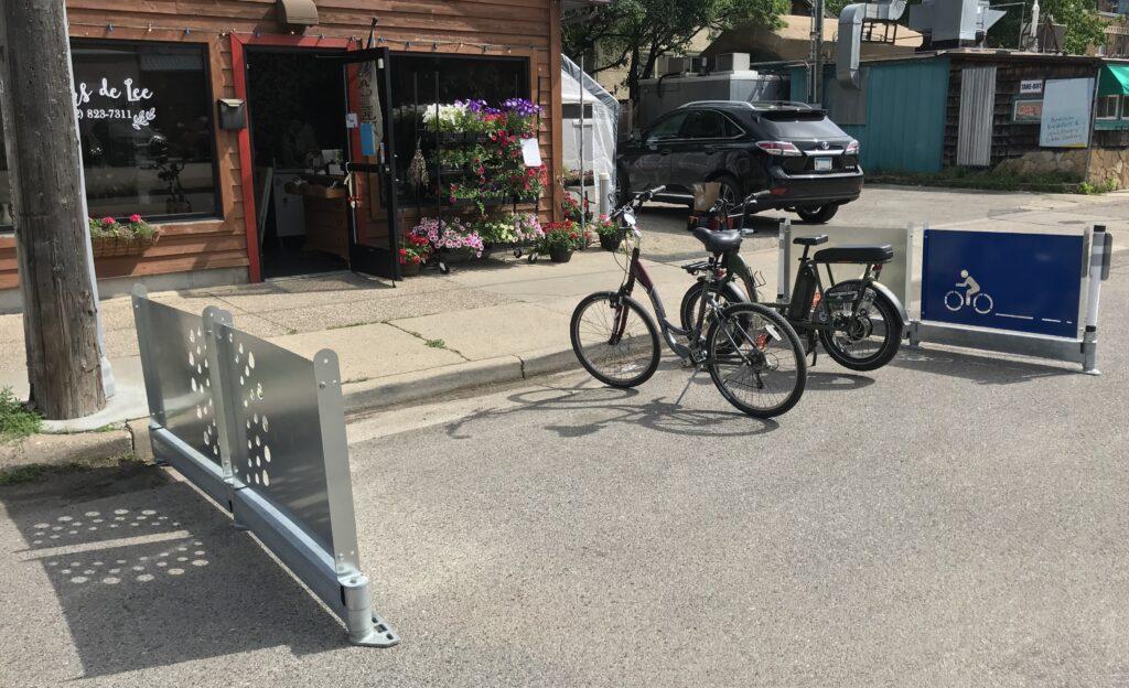 Mobility Hub created w BIKERAIL & RAILSCREEN